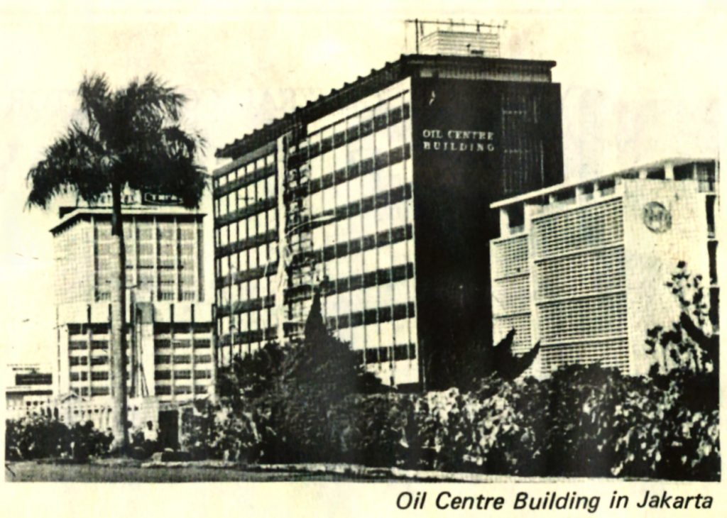Oil Centre Building, Jakarta 1974