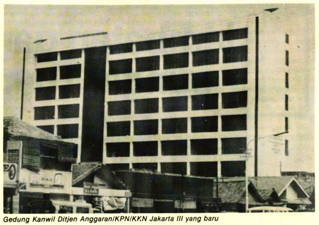 Gedung KPPN III/IV Jatinegara