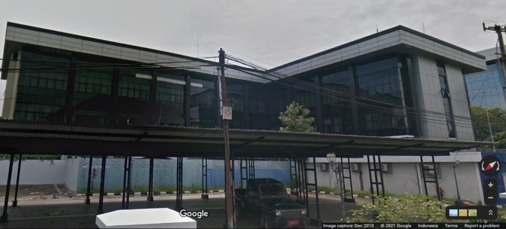 Kantor Gubernur Kalimantan Timur perluasan. Google Street View