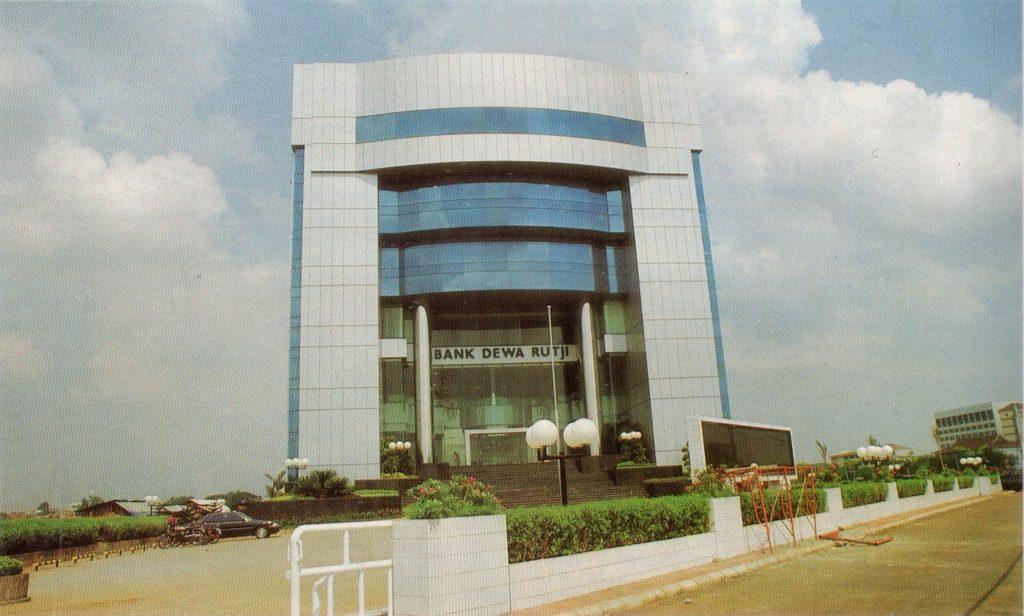 Gedung Bank Dewa Rutji, Jakarta 1989