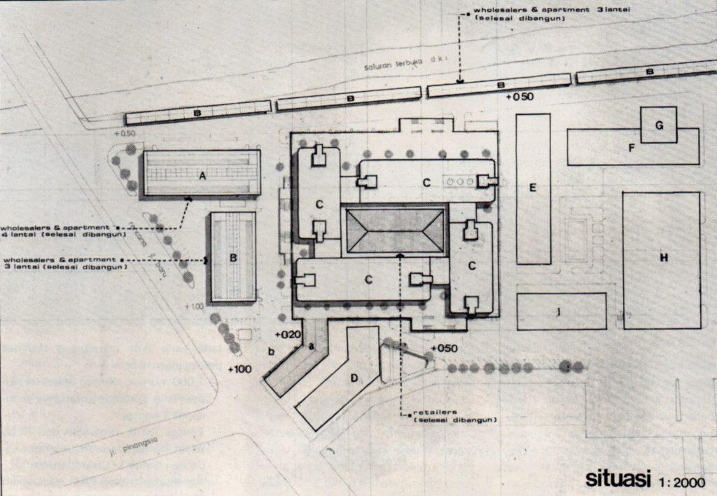 Denah Glodok Plaza 1977
