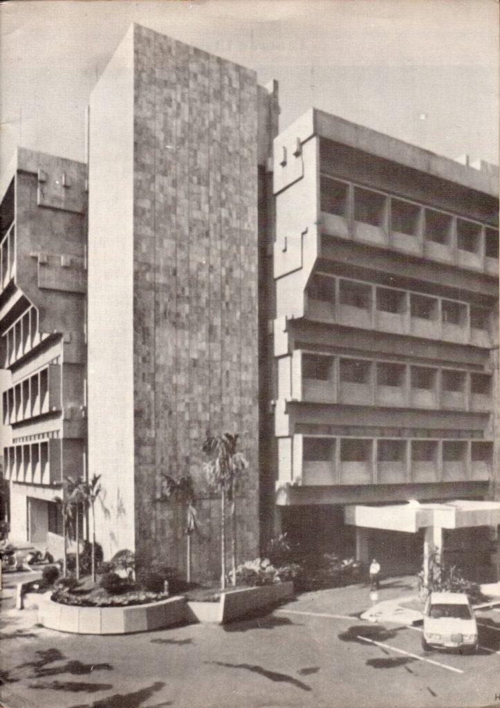 Kantor Pusat Hutama Karya dari 1977-2016