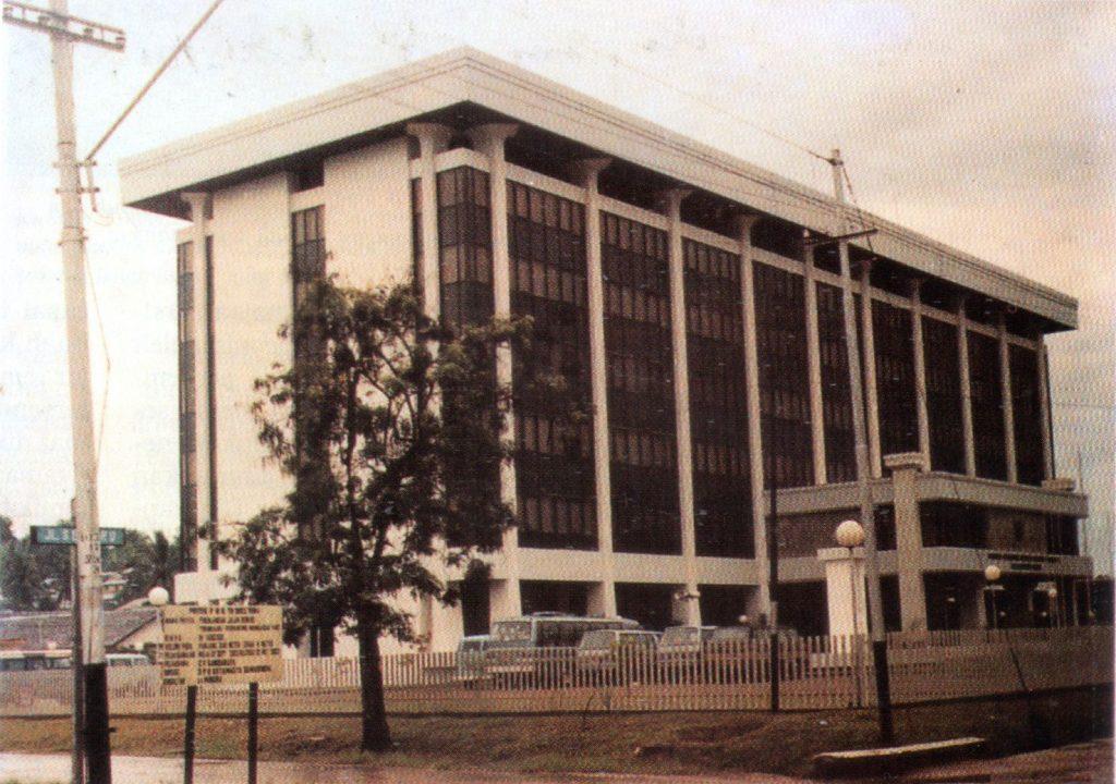 Kantor Gubernur Kalimantan Timur sebelum renovasi, Samarinda 1996