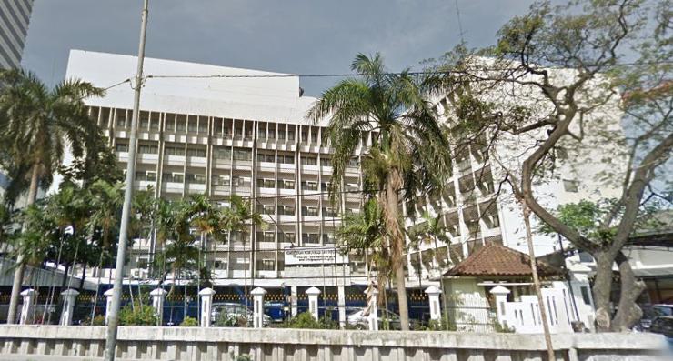Gedung Kemenkominfo, Google Street View