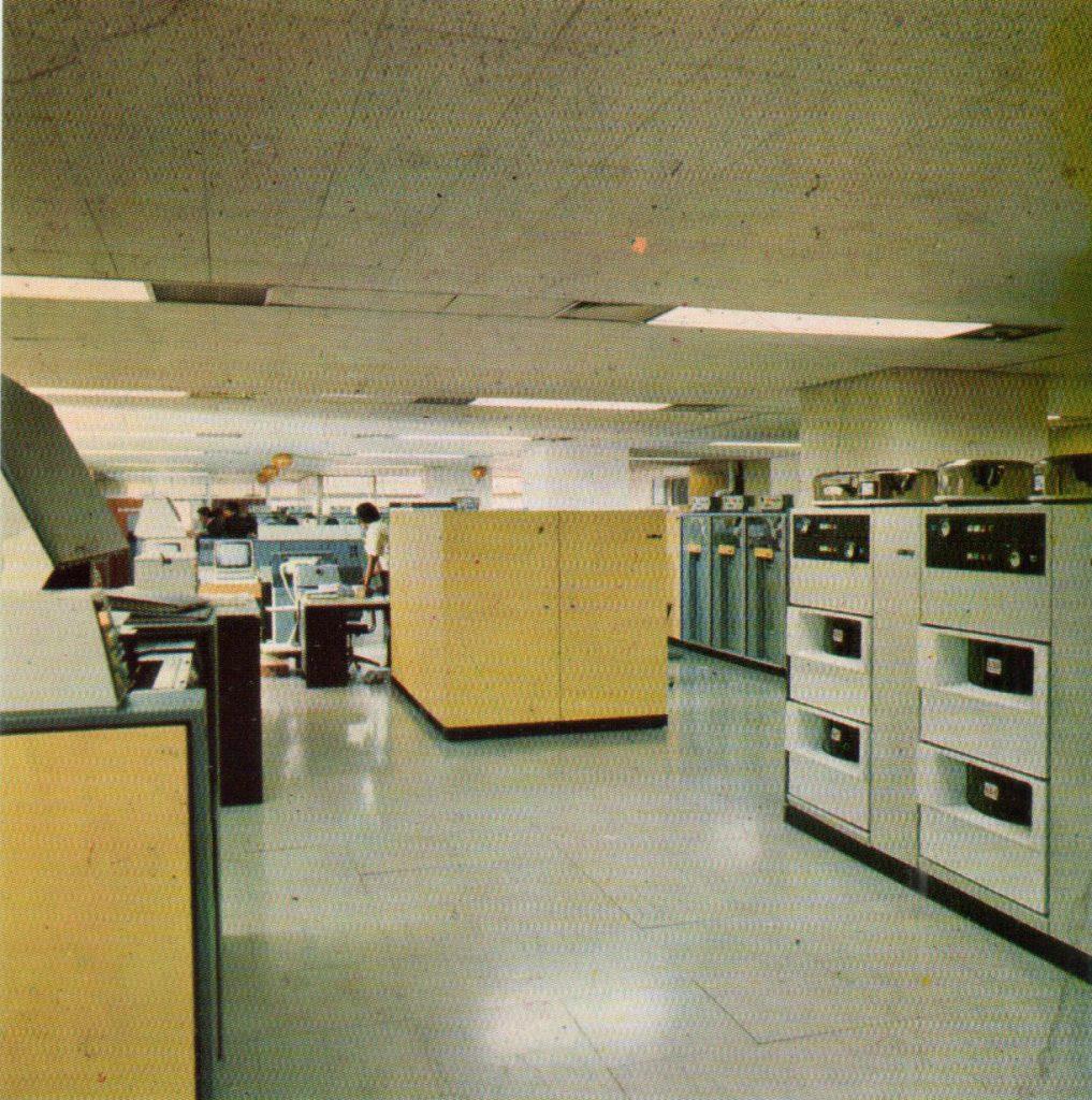 Ruang komputer Pemerintah Daerah DKI, 1976