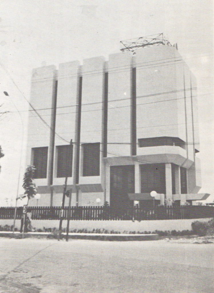 Gedung Indosat Medan 1980an