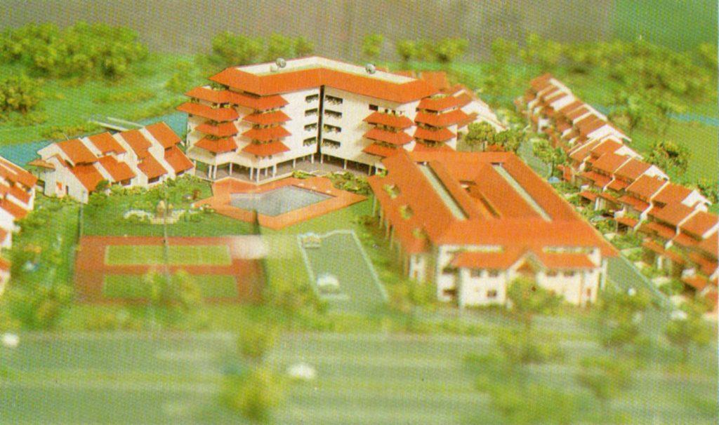 Maket Pondok Klub Villa, 1990